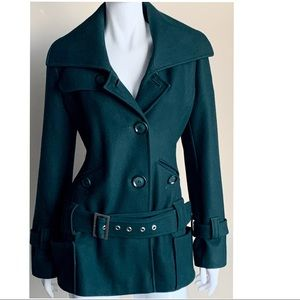 Vero Moda Sacramento Green PeaCoat Jacket Medium